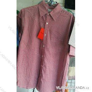 Košile krátký rukáv pánská nadrozměrná bavlněná (m-3xl) PLAUDIT CASUAL 9112328