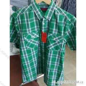 Košile krátký rukáv pánská nadrozměrná bavlněná (m-3xl) PLAUDIT CASUAL 9112329