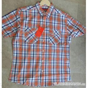 Košile krátký rukáv pánská nadrozměrná bavlněná (m-3xl) PLAUDIT CASUAL 9112330