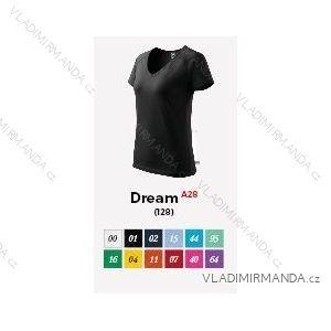 Tričko dream krátký rukáv dámské (m-2xl) REKLAMNí TEXTIL A28DREAM