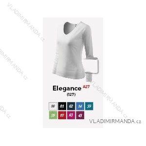Tričko elegance dlouhý rukáv dámské (m-xxl) REKLAMNí TEXTIL A28E