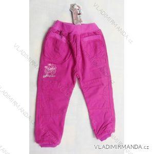 Kalhoty s flaušem uvnitř kojenecké dětské dívčí (92-116) ALB F-73/ALB