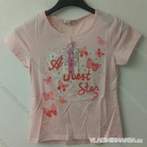 3530917013d8 Tričko krátký rukáv dětské dívčí (98-128) KUGO K595
