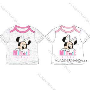 Tričko krátký rukáv minnie mouse kojenecké dívčí bavlněné (68-86) EPLUSM DIS MF 51 02 840
