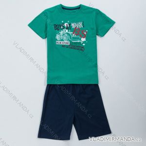 Pyžamo krátké komplet  letní dětský chlapecký (98-128) WOLF S2865
