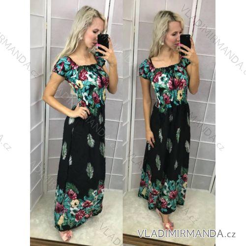 170a2fd56caf Šaty krátký rukáv dlouhé letní dámské (s-xxl) AMBITIONFLY IM1018NK8690