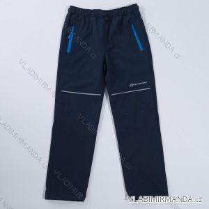 Kalhoty velmi slabé letní softshell dětské  dívčí a chlapecké  (134-164) WOLF B2887