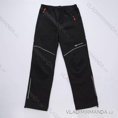 Kalhoty softshell slabé dorost dívčí a chlapecké nepromokavé (152-170) WOLF B2885