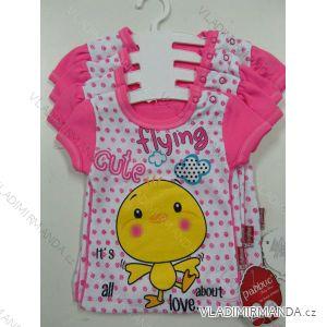 Body kratký rukáv  dívčí  (56-104) PV118132