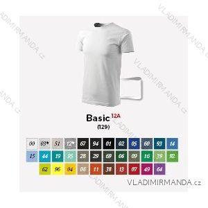 Tričko krátký rukáv pánské basic (m-2xl) REKLAMNí TEXTIL 12A