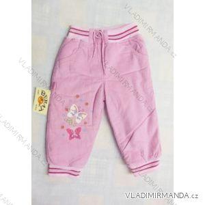 Kalhoty s beránkem dětské dívčí (1-3roky) ALB 402AL/ALB