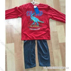 Pyžamo dlouhé dětské a dorost chlapecké (98-134) FOCUSE 55-137