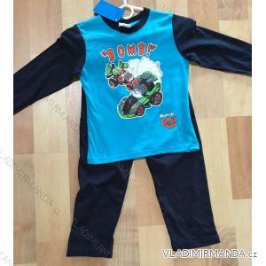 Pyžamo dlouhé dětské a dorost chlapecké (98-134) FOCUSE 55-138