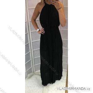 Šaty dlouhé letní bez rukávů dámské  (uni s-l) ITALSKá MODA IMT18561