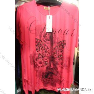 Šaty tunika krátký rukáv dámská (m-xxl) AIMAINIR BW6627