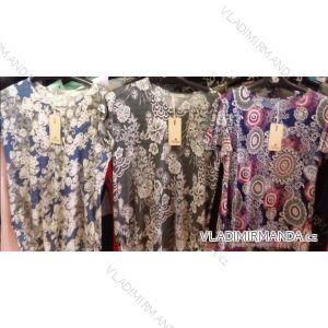 Šaty tunika krátký rukáv dámská (m-xxl) AIMAINIR W6699