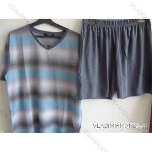 Pyžamo krátké komplet letní pánský bavlněný  (3xl-6xl)  AK8351