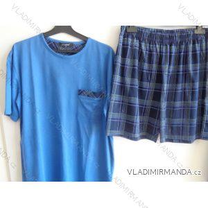 Pyžamo krátké komplet letní pánský bavlněný m-x l  AK8366-0
