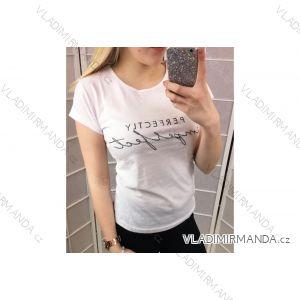 Tričko krátký rukáv dámské (s-xl) FREKANS TURECKá MóDA TM118053