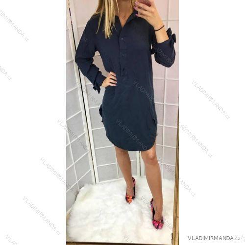 Šaty košilové 3 4 dlouhý rukáv dámské (uni s-l) ITALSKá MóDA IMC18932 45e4c926e0a