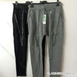 Kalhoty elastické bambusové dámské (s-3xl) VAAV VA-1033