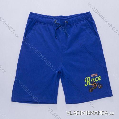 Šortky, kraťasy modré dětské (134-164) WOLF T2839