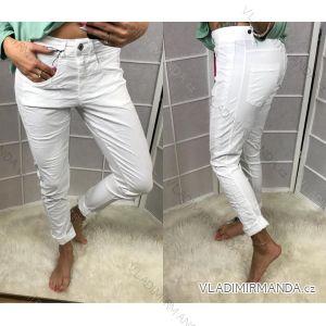 Kalhoty tenké letní dámské  (uni s-l) ITALSKá MODA IM51877911G