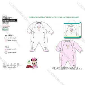 Pyžamo dlouhé minnie mouse kojenecké dívčí (0-6 měsíců) SUN CITY HQ0325