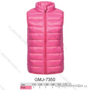 Vesta polstrovaná dětská a dorost dívčí (110-160) GLO STORY GMJ-7350