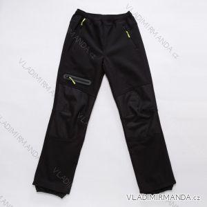 Kalhoty softshellové zateplené s fleecem dorost chlapecké (152-170) WOLF B2895