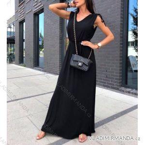 Šaty dlouhé letní bez rukávů dámské (uni s-l) ITALSKá MODA IMT18522