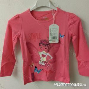 Tričko dlouhý rukáv dětské dívčí (98-128) KUGOT2233C