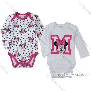 Body dlouhý rukáv minnie mouse kojenecké dívčí bavlněné (3-23 měsíců) EPLUSM DIS MF 51 01 828 SINGLE MIX