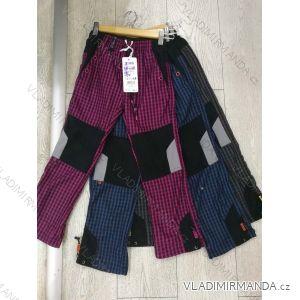 Kalhoty manšestr bavlněné outdoor dětské dorost (98-128) GRACE 81313