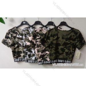 Tričko krátký rukáv dámské maskáčové (one size) ITALSKá MóDA IMT17003
