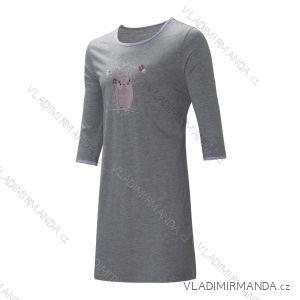 Noční košile krátký rukáv dámská (m-2xl) WOLF D2842