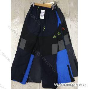 Kalhoty šusťákové zateplené flaušem dorost dívčí i chlapecké (134-164) GRACE GRA1871154