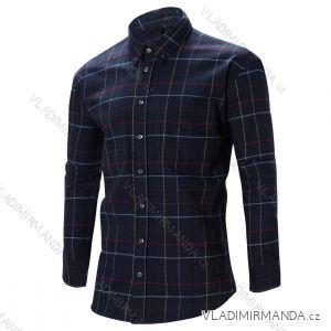 Košile dlouhý rukáv flanelová pánská (m-xxl) WOLF K2852
