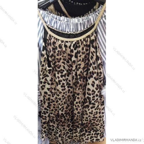 18f42fa10fda Šaty leopardí vzor 3 4 dlhý rukáv dámsky (uni sl) TALIANSKÁ MÓDA IM91853