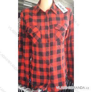 Košile kostičkovaná dlouhý rukáv dámská (s-xl) ITALSKá MóDA IM718C923