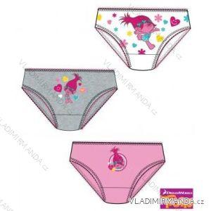 Kalhotky (3 ks v balení) trolls dětské a dorostenecké dívčí (98-152) TV MANIA 160847