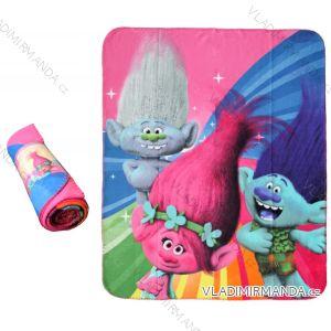 Deka flaušová trolls dětská dívčí (120x140) EPLUSM 52 48 061 W