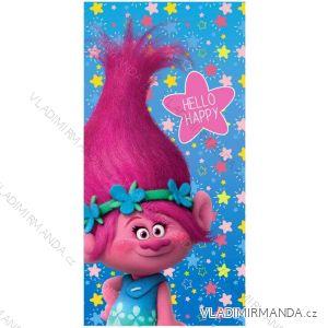 Osuška ručník trolls dětská dívčí (70*140) EPLUSM 52 47 083 MICRO