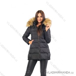Kabát zimné s kožušinkou dámsky prešívaný (SML-xl) MFASHION MF18M-15A
