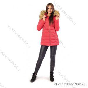 Kabát zimné s kožušinkou dámsky prešívaný (SML-xl) MFASHION MF18M-04A