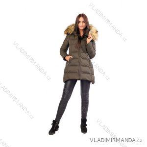 Kabát / vesta zimná s kožušinkou dámsky prešívaný (SML-xl) MFASHION MF18M-02A