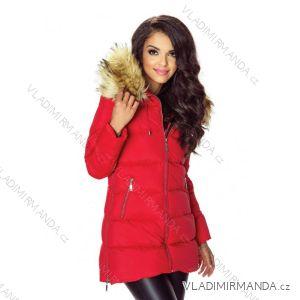 Kabát zimné s kožušinkou dámsky prešívaný (SML-xl) MFASHION MF18M-05