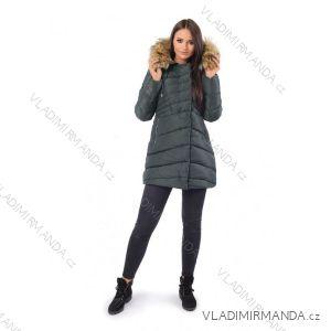 Kabát zimné s kožušinkou dámsky prešívaný (SML-xl) MFASHION MF18M-205A