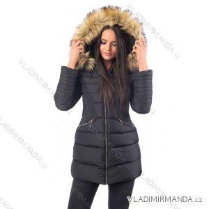 Kabát zimné s kožušinkou dámsky prešívaný (SML-xl) MFASHION MF18M-201A