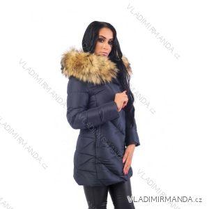 Kabát zimné s kožušinkou dámsky prešívaný (SML-xl) MFASHION MF18M-208A 86f05d284de